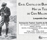En el Castillo de Burgos hay un tesoro de cien millones...