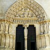 Puerta del Sarmental de la Catedral en Burgos