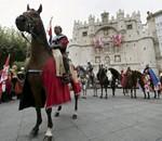Desfile de las tropas del Cid
