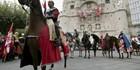 Desfile de las tropas del Cid en Plaza del Mío Cid, Burgos