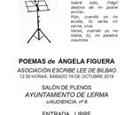 Recital poético Asociación Escribe Lee - Ángela Figuera