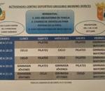 Actividades centro deportivo gregorio moreno 2020/21