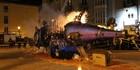 Traca y quema de la Sardina en Plaza del Huerto del Rey, Burgos